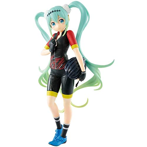 Banpresto Hatsune racing ver. EXQ figure Racing Miku 2018 Team UKYO support ver. von Banpresto