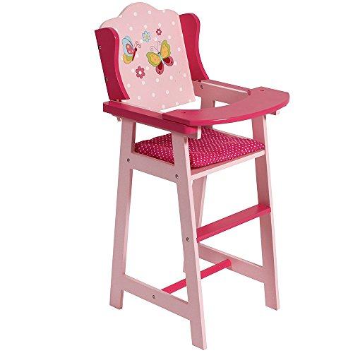 Dots Navy-Pink Bayer Chic 2000 655 12 Puppen-Hochstuhl