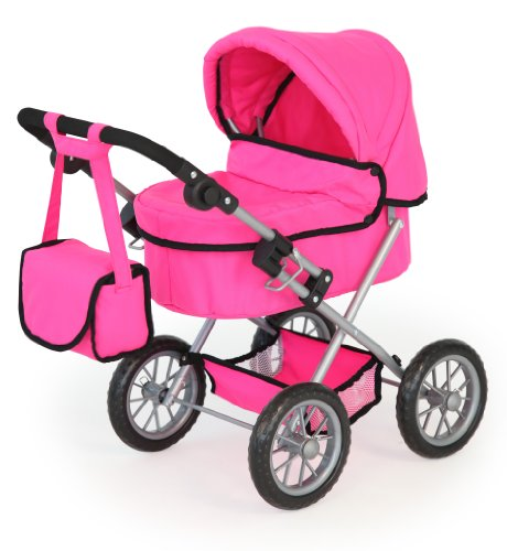 Bayer Design 13029 - Puppenwagen Trendy, pink von Bayer Design