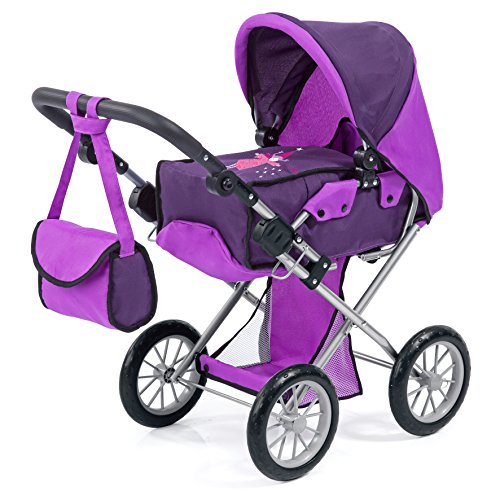 Bayer Design 13612AA Puppenwagen City Star, Lila/dunkel Lila von Bayer Design