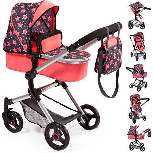 Babypuppen & Zubehör Bayer Design 18591AA Kombi-Puppenwagen Neo Pro Puppen & Zubehör