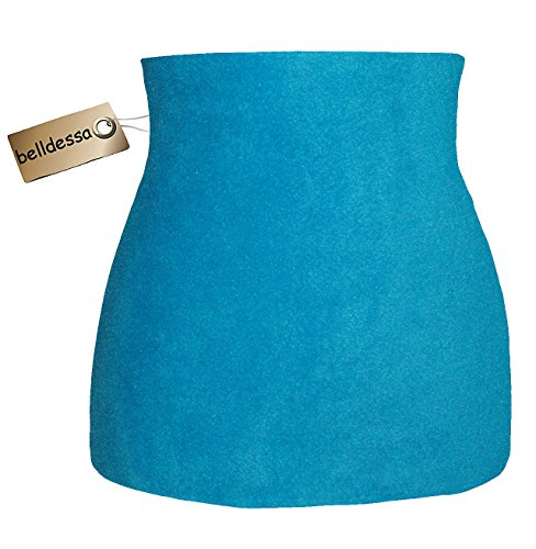 modisches Accessoire Belldessa 3 in 1 Jersey Nierenw/ärmer Frau S Streifen gestreift schwarz Shirt Verl/ängerer