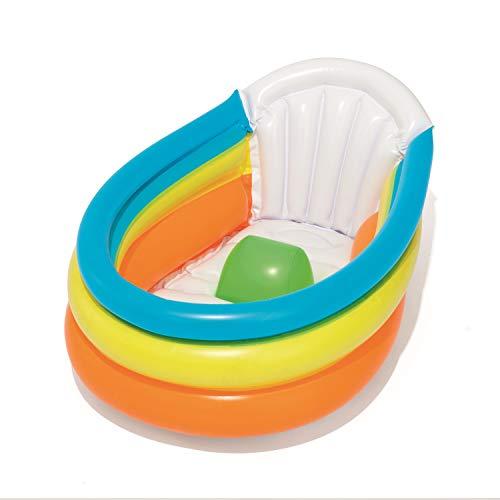 Bestway 52173 Kinderbadespaß Spielcenter Baby Planschbecken Froggy Schwimmbecken Aufblasbares