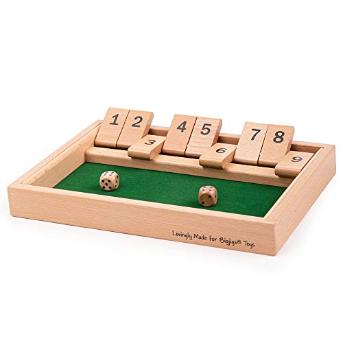 Bigjigs Toys Shut-The-Box-Würfelspiel von Bigjigs Toys