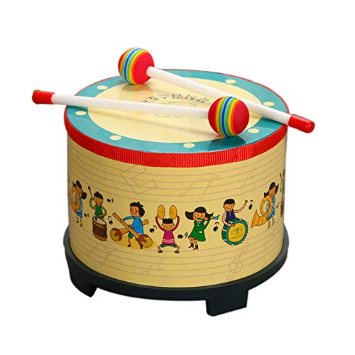 Black Temptation 8 Inches Floor Tom Drum for Kids Percussion Instruments Musical Toys Toddler Kids Drum Set von Black Temptation