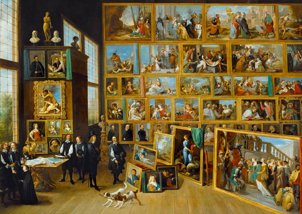 Bluebird Puzzle David Teniers the Younger - The Art Collection of Archduke Leopold Wilhelm in Brussels, 1652 1000 Teile Puzzle Art-by-Bluebird-Puzzle-60054 von Bluebird Puzzle