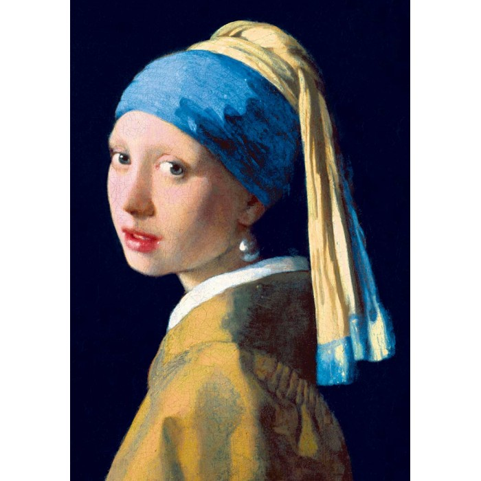 Bluebird Puzzle Vermeer- Girl with a Pearl Earring, 1665 von Bluebird Puzzle