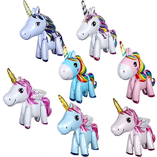 Einhorn Foto Requisiten Set Geburtstag Pegasus Party Verkleidung Vorräte Dekors