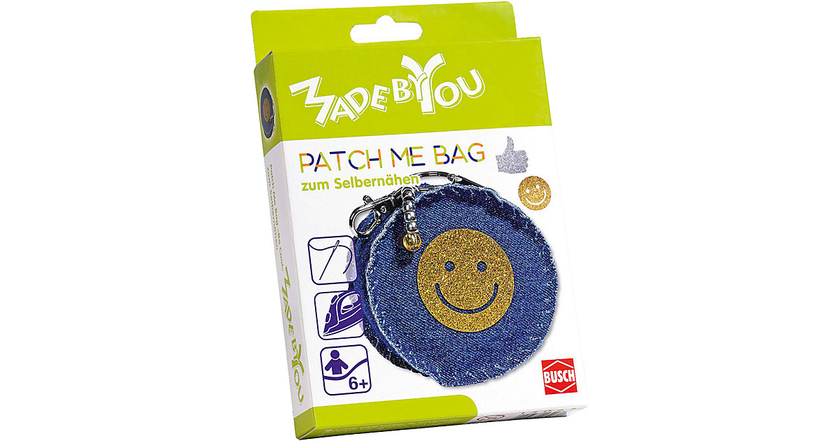 MADE BY YOU Nähset: Patch Me Bag Be Cool von Busch