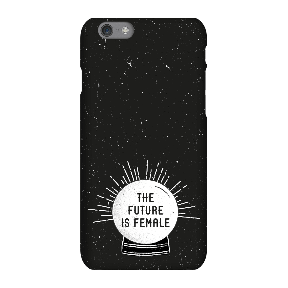 The Future Is Female Phone Case for iPhone and Android - iPhone 8 - Snap Hülle Glänzend von By IWOOT