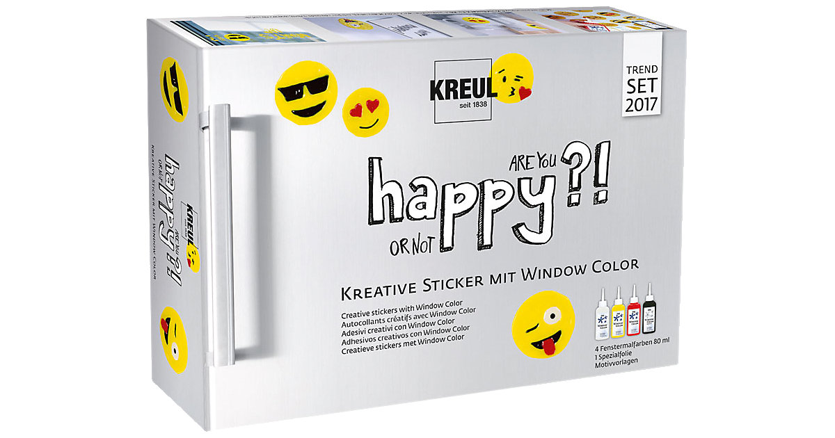 Happy Window Color Sticker Set von C. KREUL