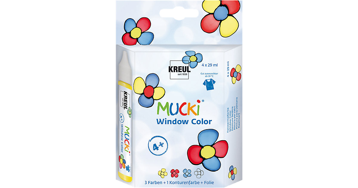 Mucki Window Color 4er-Set von C. KREUL