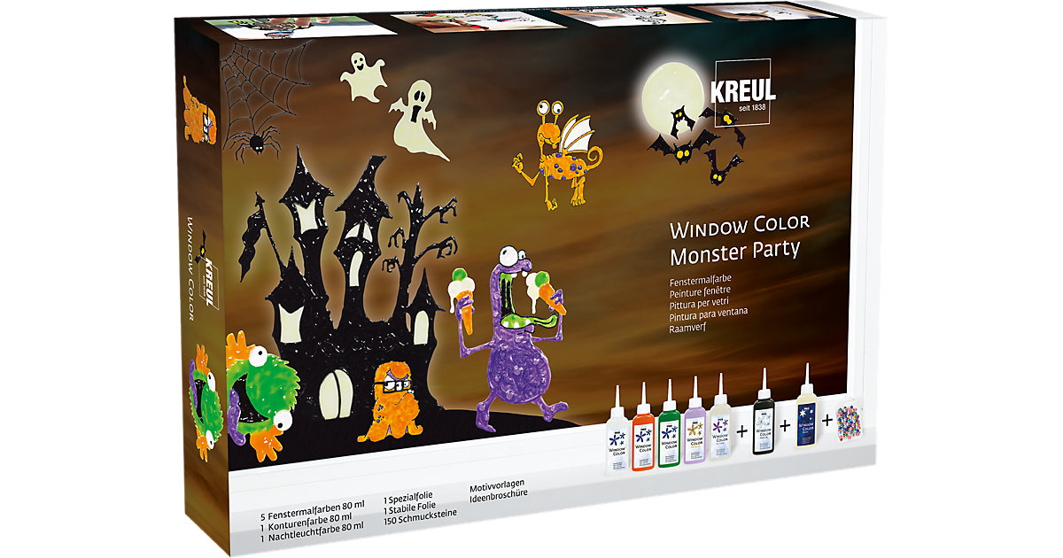 Window Color Monster Party Set von C. KREUL