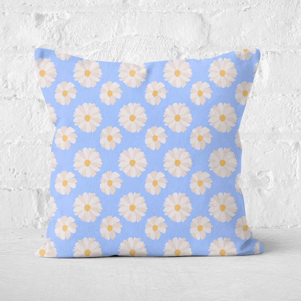 Daisy Square Cushion - 60x60cm - Soft Touch von CALM/ZEN/YOGA