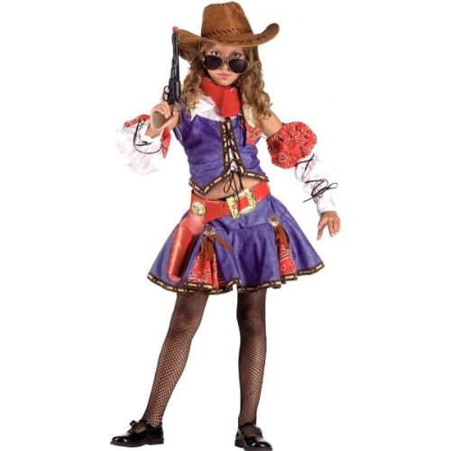 CLOWN REPUBLIC 93914/14 Fille du Texas Anzug, Mehrfarbig, 14 Years von CLOWN REPUBLIC