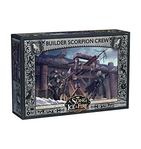 CoolMiniOrNot CMNSIF306 Game of Thrones A Song of Ice and Fire: Builder Scorpion Crew Expansion, Mehrfarbig von CoolMiniOrNot