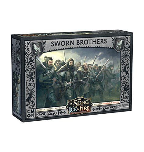 CoolMiniOrNot CMNSIF301 Game of Thrones A Song of Ice and Fire: Night's Watch Sworn Brothers Expansion, Mehrfarbig von CoolMiniOrNot