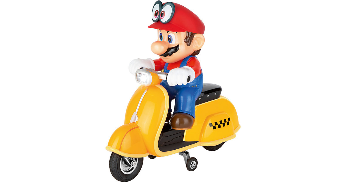 Carrera RC 2,4GHz Super Mario Odyssey (TM) Scooter, Mario von Carrera