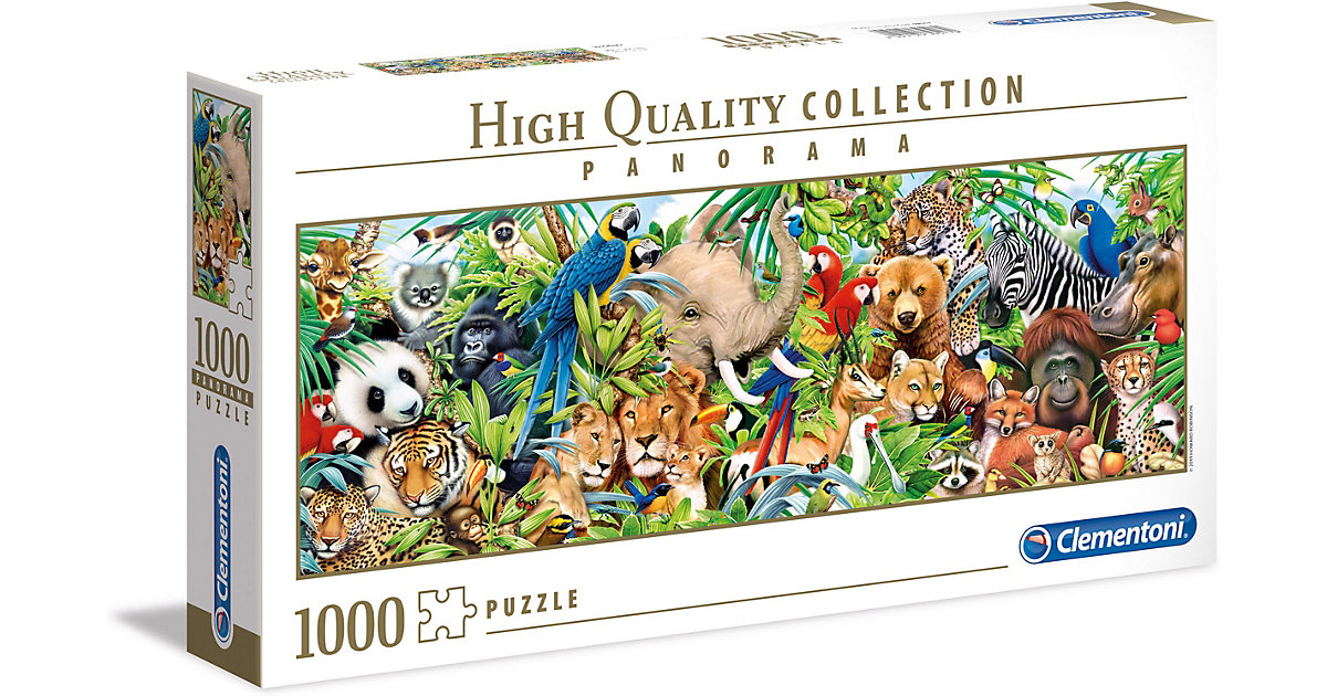 Puzzle 1000 Teile Panorama High Quality Collection -Wildlife von Clementoni