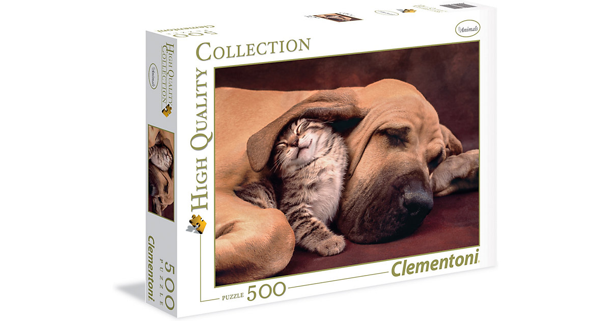 Puzzle 500 Teile High Quality Collection - Cuddles von Clementoni