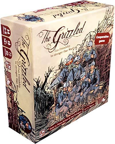 Cool Mini Or Not CMNGRZ0001 - The Grizzled Brettspiel von Cool Mini or Not
