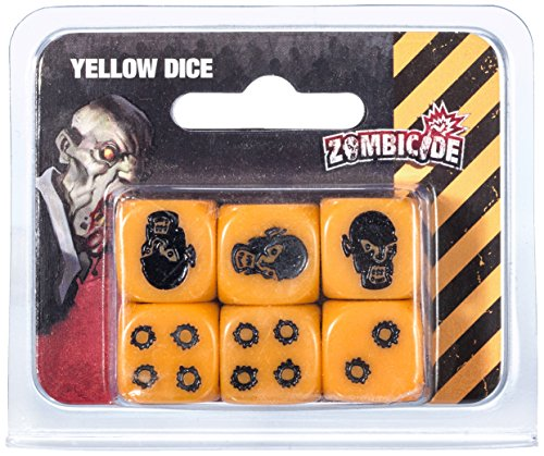"""Cool Mini Or Not GUG0058 - Zombicide Season 3 Würfel, gelbe"" von Cool Mini or Not"