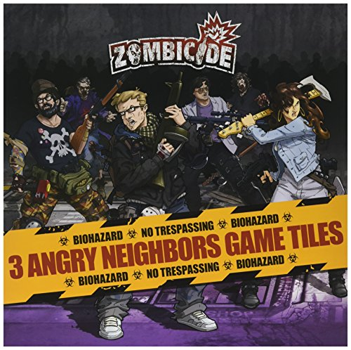 Cool Mini Or Not GUG0065 - Zombicide Season 3 Angry Neighbours Platten Pack - Englisch von Cool Mini or Not