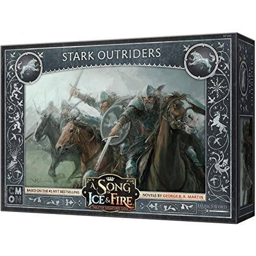 CoolMiniOrNot CMNSIF102 Thrones A Song of Ice and Fire Miniaturspiel: Stark Outriders Expansion, Mehrfarbig von CoolMiniOrNot