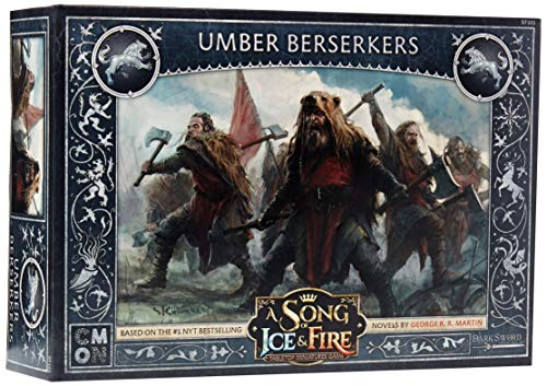 CoolMiniOrNot CMNSIF103 Thrones A Song of Ice and Fire Miniaturspiel: Umber Berserkers Expansion, Mehrfarbig von CoolMiniOrNot