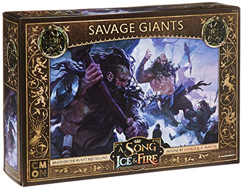CoolMiniOrNot CMNSIF406 A Song of Ice and Fire Miniaturspiel: Free Folk Savage Giants Expansion, Mehrfarbig von CoolMiniOrNot