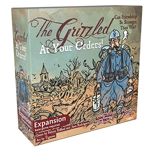 The Grizzled: At Your Orders! Card Game Expansion by Cool Mini or Not von Cool Mini or Not