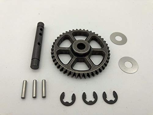 CrazyRacer Idler Gear 44T Central Differential Gear with Shaft for HPI RC Savage Flux HP 100905 von CrazyRacer