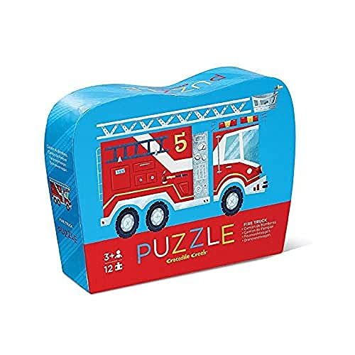 Crocodile Creek Fire Truck Puzzle (12 Stück) von Crocodile Creek