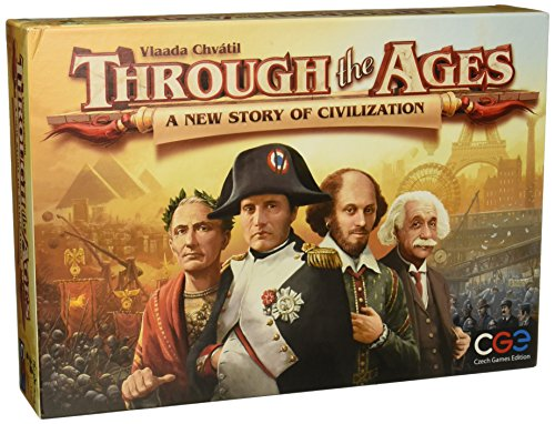 Through the Ages - A New Story of Civilization - Brettspiel ENGLISCH von Czech Games Edition