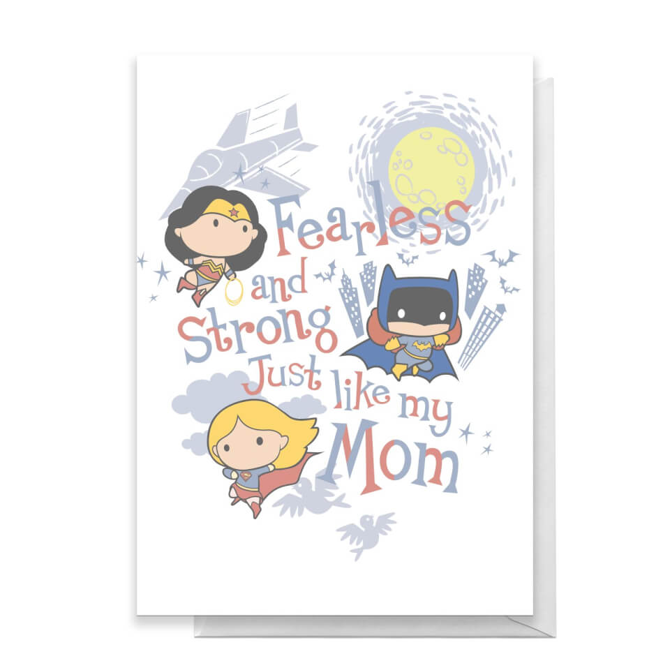 DC Happy Mother's Day Greetings Card - Standard Card von DC Comics