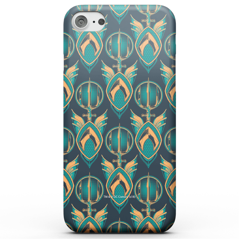 Aquaman Phone Case for iPhone and Android - iPhone 8 Plus - Snap Hülle Glänzend von DC Comics