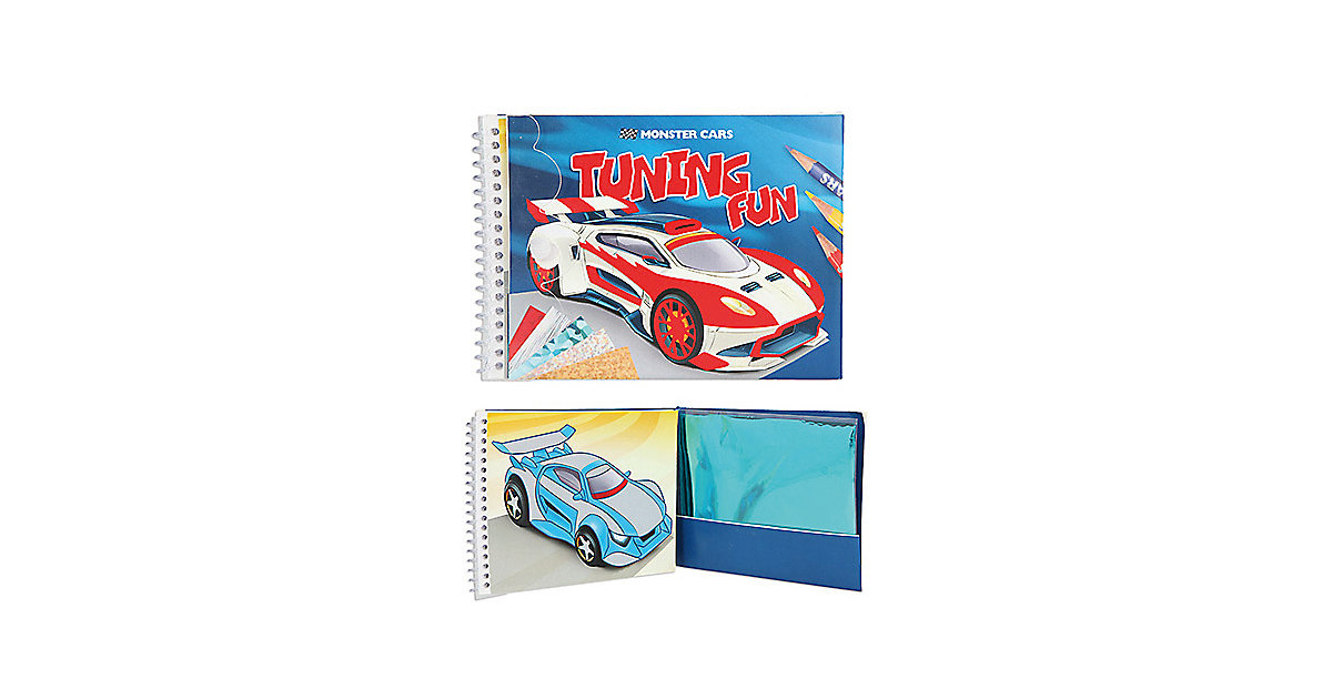 Buch - Monster Cars Tuning Fun Acticity-Book von Depesche