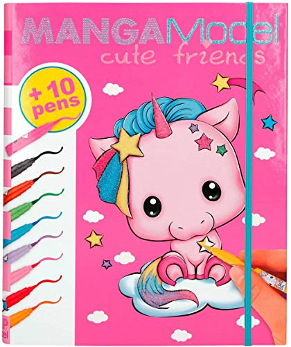 Depesche 8766 - Kreativmappe Top Model Cute Friends von Depesche