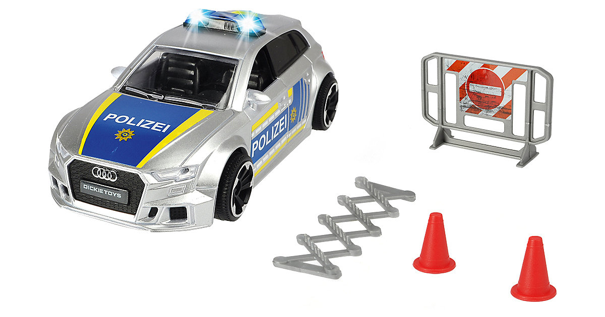 Audi RS3 Police von Dickie Toys