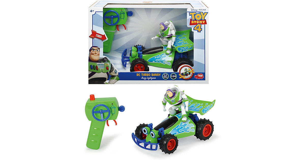 RC Toy Story Buggy with Buzz von Dickie Toys