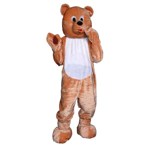 Dress Up America Attraktive Teddybär Maskottchen Outfit für Erwachsene von Dress Up America