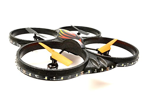 "RC UFO 4.5 Channel 2.4 Ghz 6 Axis Gyro Quadrocopter ""X125L with Camera von ES-TOYS"