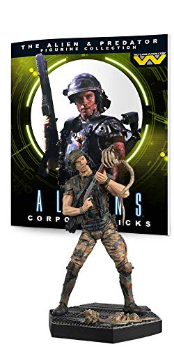 Eaglemoss Predator Figur Collection # 3: Hicks von Alien Figur aus Kunstharz von Eaglemoss