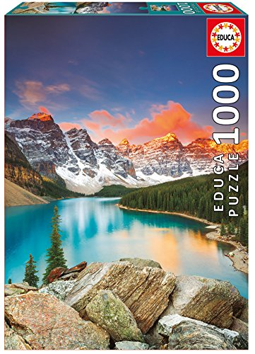 Educa 17739 1000 Moraine Lake, Banff National Park, Canada von Educa