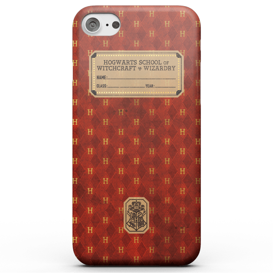 Harry Potter Gryffindor Text Book Phone Case for iPhone and Android - iPhone 5/5s - Snap Hülle Glänzend von Harry Potter