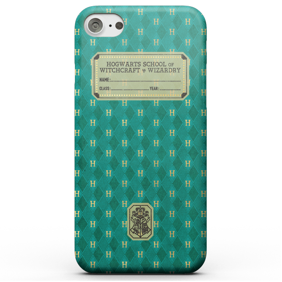 Harry Potter Ravenclaw Text Book Phone Case for iPhone and Android - iPhone 7 - Snap Hülle Matt von Harry Potter
