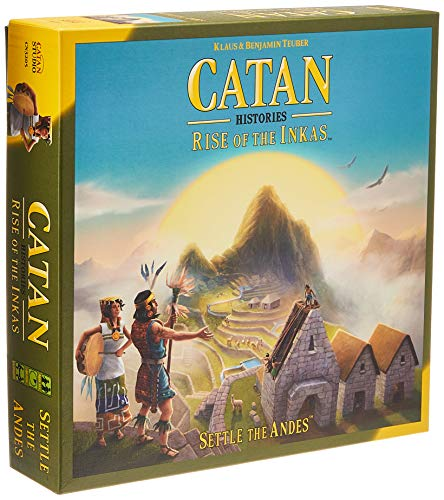 Catan Studios CN3205 Catan: Rise of The Inkas von CATAN