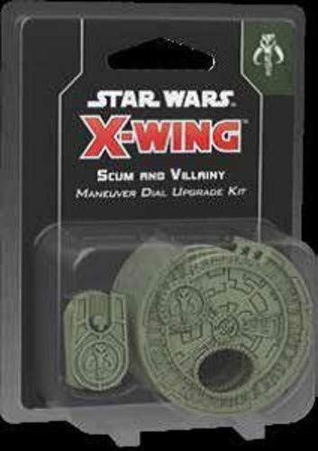 Star Wars FFGSWZ11 X-Wing: Scum and Villainy Maneuver Dial Upgrade Kit, Mehrfarbig von Star Wars