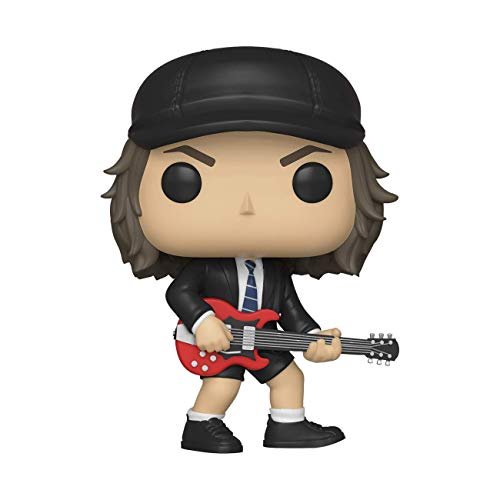 Funko 36318 POP Vinyl: Rocks: AC/DC: Angus Young w/Chase (Styles May Vary) Sammelbares Spielzeug, Mehrfarben von Funko