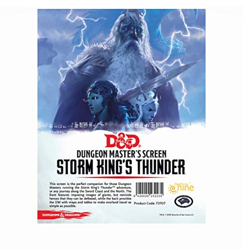Gale Force Nine GF973707 Brettspiel DundD Storm Kings Thunder DM Screen von Gale Force Nine